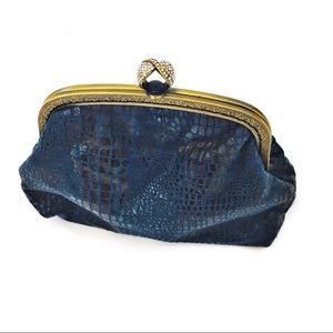 Unique vintage handcrafted clutch